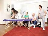 Group Erotic Massage Turns Into Gangbang Fucking