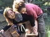 Japanese Unsatisfied Wife Fucks Outside the House With Neighbors Son