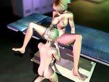 Sexy hentai shemale hot licking n fucking fun