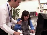Clumsy Intern Making Up For Spilling The Coffee On Bosses Desk By Perfect Blowjob