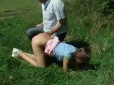 Outdoor Spanking Punishment Teen 1 xLx
