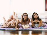 3 Teen Schoolgirls Sharing on One Hard Dick