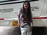 Tamil Girl Removing Her Panty In Public
