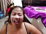 Huge facial destroys her face