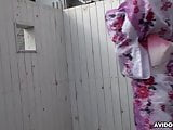 Japanese darling, Miharu Kai sucks dick, uncensored