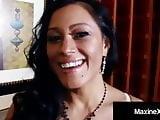 Cambodian Cougar MaxineX Dark Dicked By Big Black Cock!