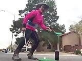 Golfing Cowboy