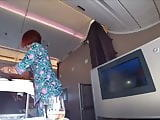 Malaysian stewardess
