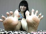 Sweet Coco - Blue Long Nails Footjob