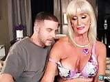 Blonde Granny gets fucked good