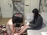 Chinese Foot Slave Gets Hand Release