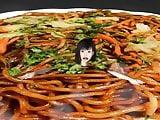 teen girl nude Big tits yakisoba big eater