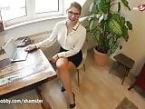 MyDirtyHobby - Teen intern fucks her coworker in the office