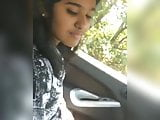 Mallu GF Blowjob In Car