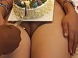Nude birthday cake